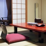 Japanese style hotel guest room