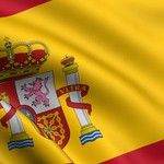 Rendered spanish flag