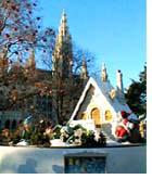 Курорты ждут гостей на Рождество