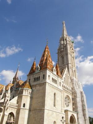 Будайская крепость в Будапеште