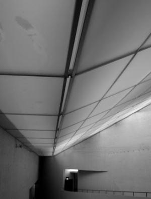 Прозрачные потолки в музее Киасма