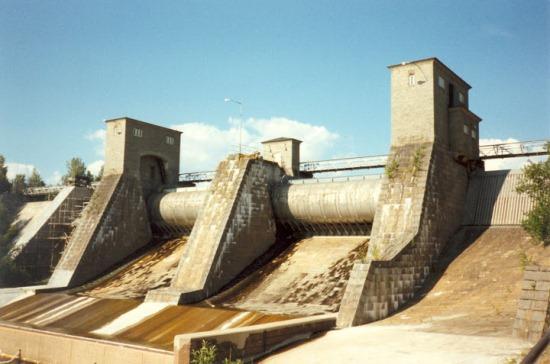 Водопад Иматра без воды