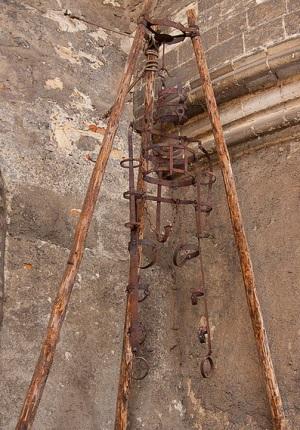 Орудие пыток в башне Далиборка