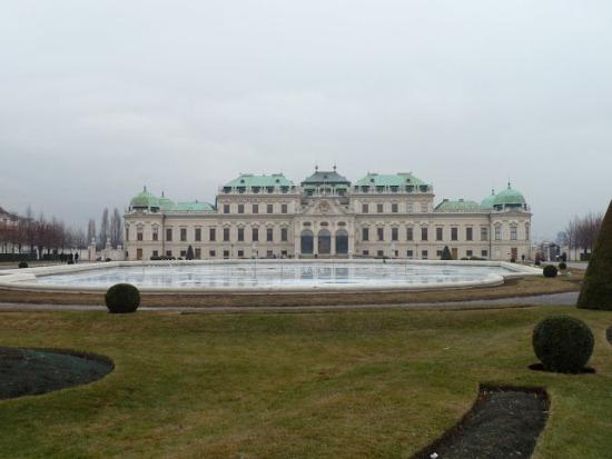 Бельведер, дворцовый комплекс в Вене