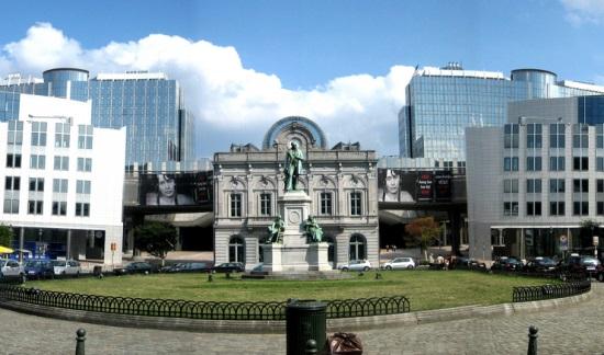 Европейский парламент, комплекс зданий в Брюсселе