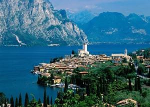 Гарда, озеро в Италии