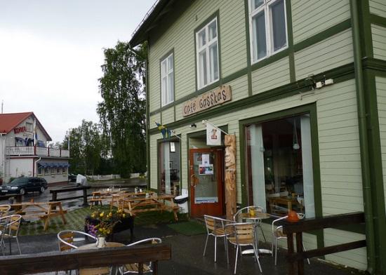 Кафе в городе Йокмокк