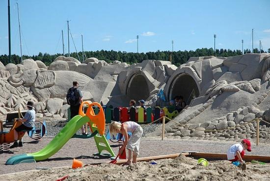Песочные замки в Лаппеенранте