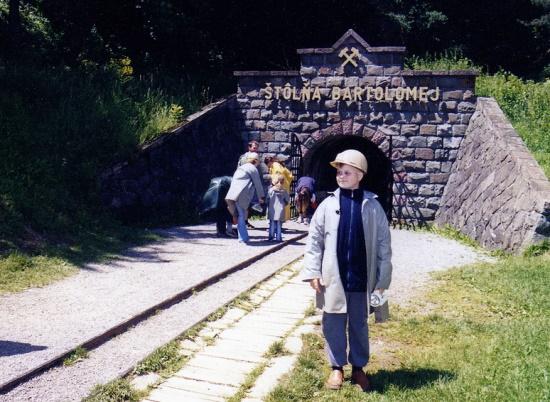 Шахта музея горного дела в Банска-Штявница