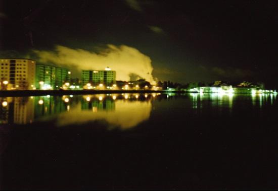 Оулу ночью