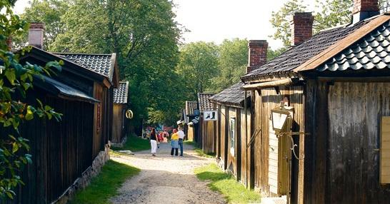 Деревня-музей в Турку
