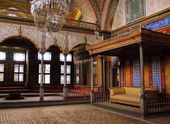 Внутри дворца Топкапы