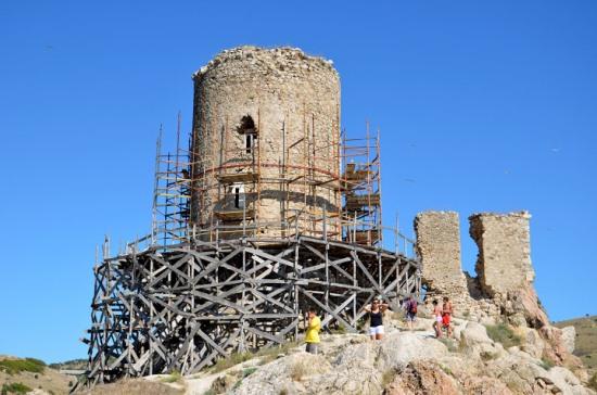 Генуэзская крепость Чембало