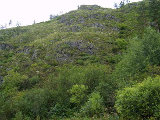 Склон горы Борус