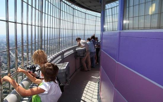 Смотровая площадка Останкинской башни