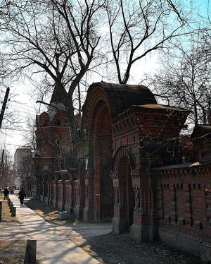 Усадьба Железнова в Екатеринбурге, ворота