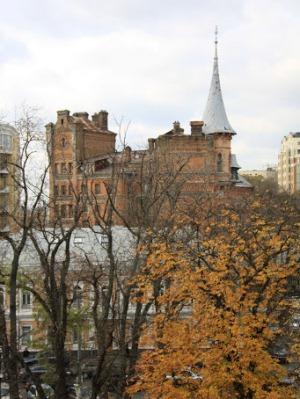 Замок барона Штейнгеля в Киеве