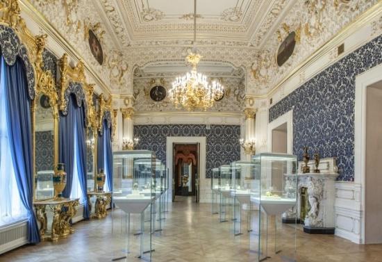 Музей Фаберже в дворце Нарышкиных-Шуваловых в Санкт Петербурге