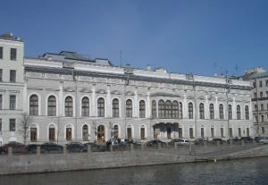 Дворец Нарышкиных-Шуваловых в Санкт Петербурге