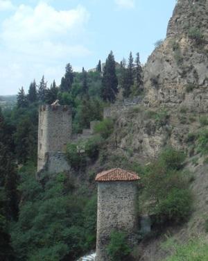 Укрепления крепости Нарикала