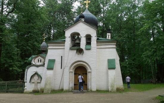 Церковь на территории музея-заповедника «Абрамцево»