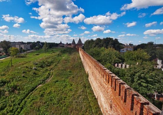 Смоленская крепость, стена