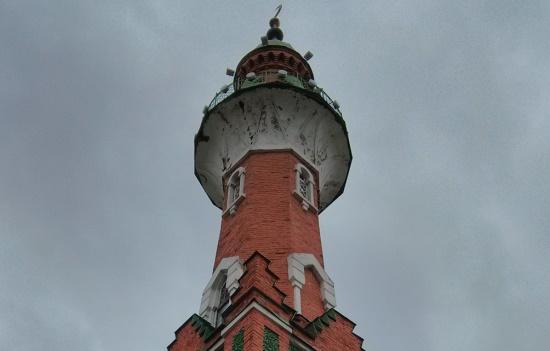 Закабанная мечеть в Казани