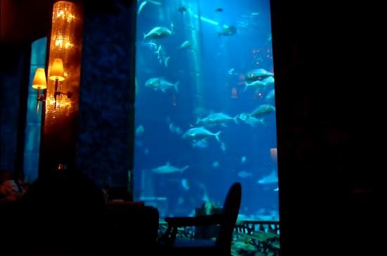 Ресторан Ossiano в Дубай