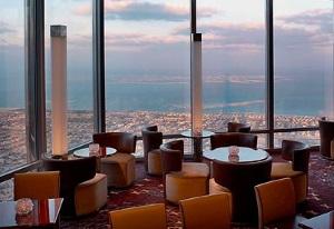 Ресторан Atmosphere в Дубай