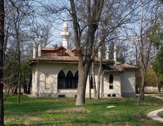 Дворец Воронцова в Симферополе, кухня-флигель