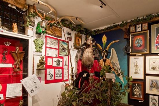 Музей колдовства в Корнуолле, Англия
