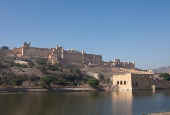форт Амбер в Индии