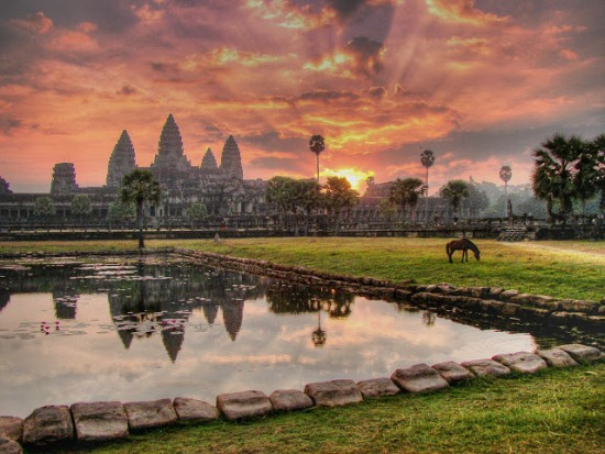 Ангкор-Ват - храмовый комплекс