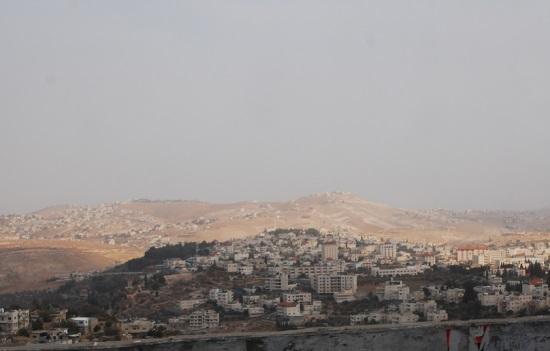 Вид с горы Фавор