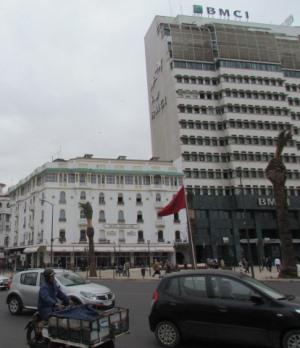Касабланка, в центре города
