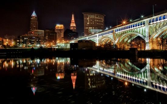 Кливленд ночью