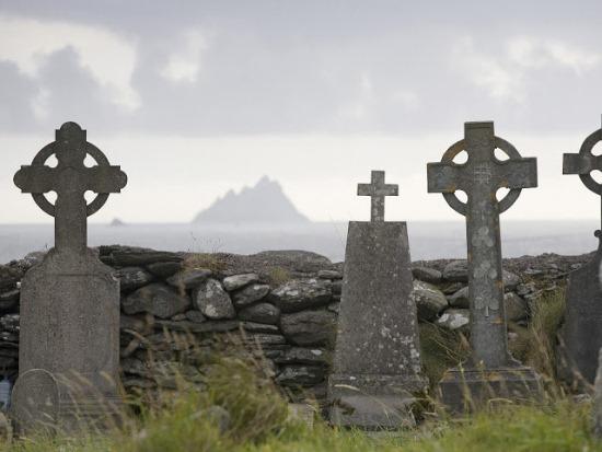 Монастырь Скеллиг-Майкл в Ирландии