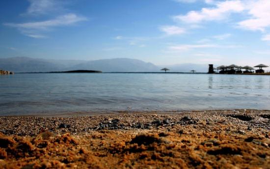 Мёртвое море, берег