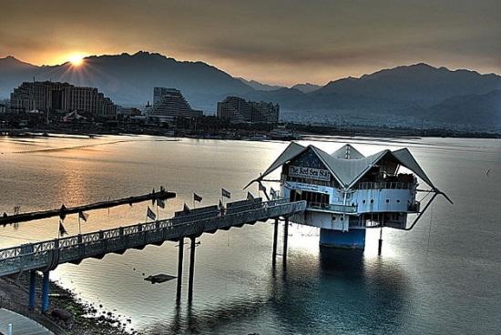 Рассвет на побережье Красного моря