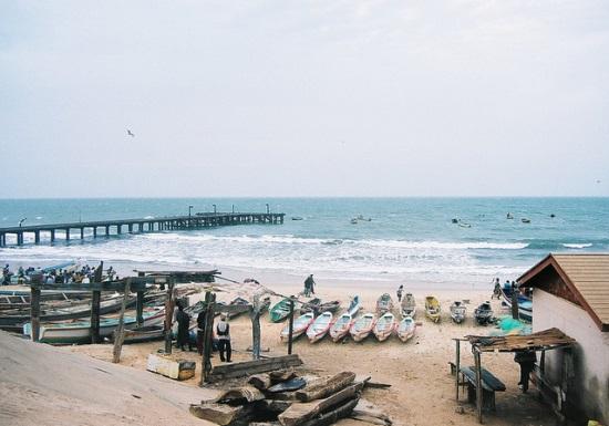 Серекунда, у побережья
