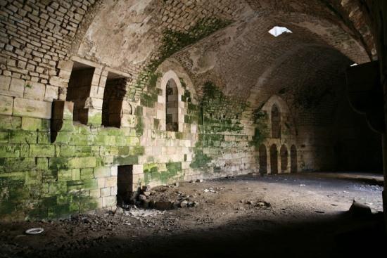 Замок Крак Де Шевалье в Сирии