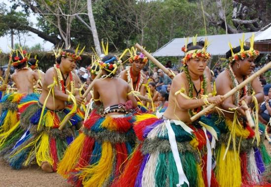 Праздник на острове Яп
